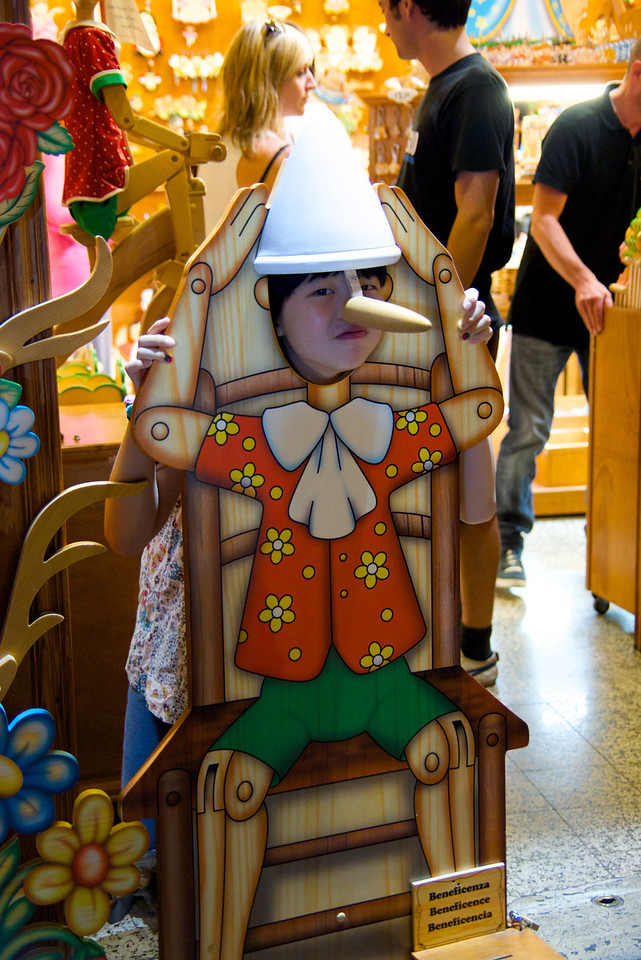 Picture As Pinocchio