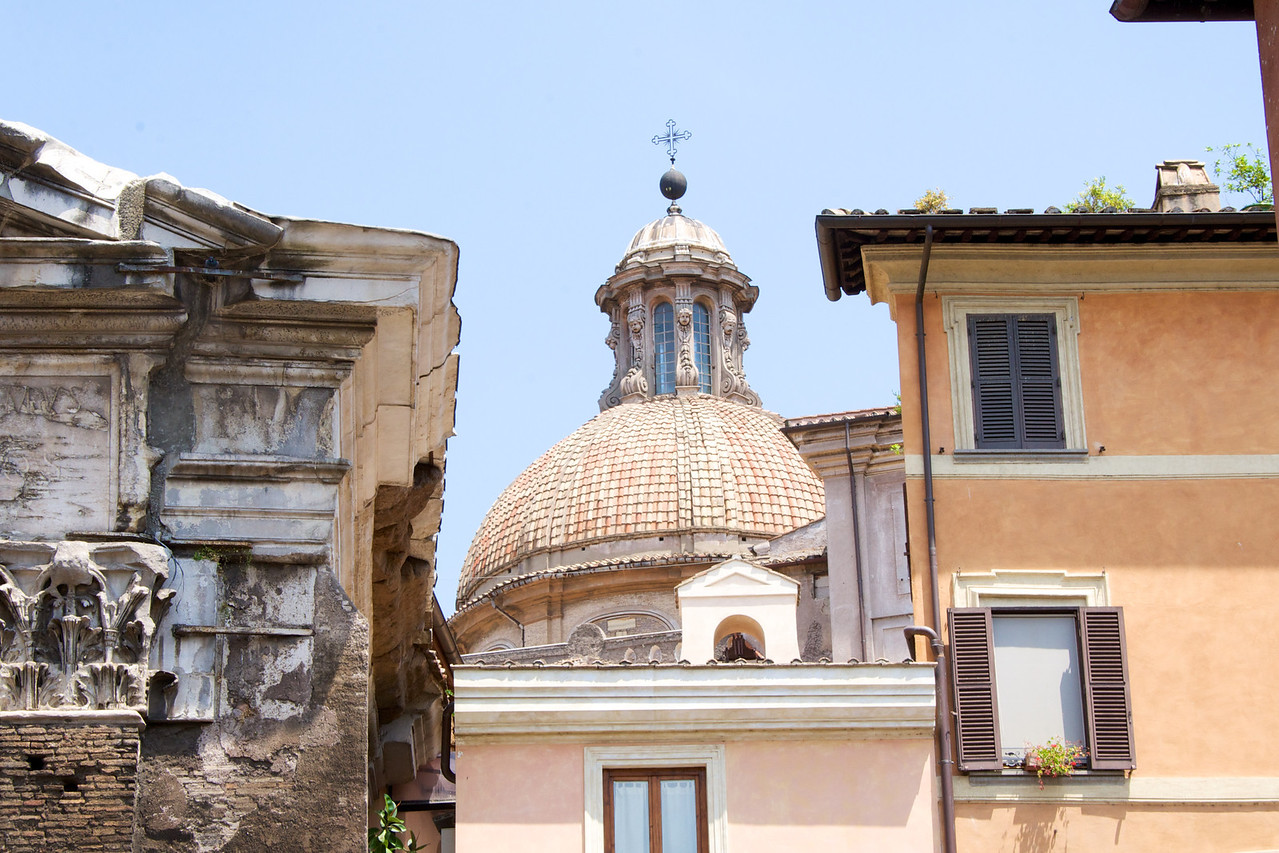 Views from Within Jewish Ghetto… Variety of Architectural Styles