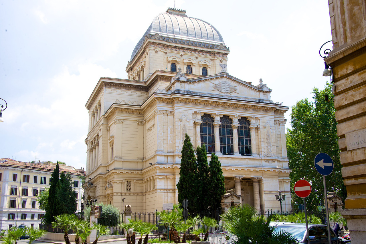 Front of Great Synagogue