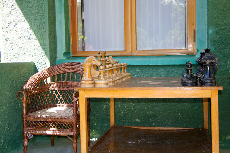 Specially Made Chess Set Used by Stalin