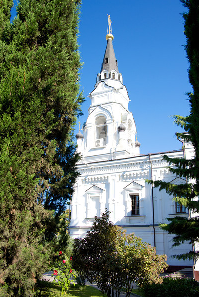 Main Building of Cathedral of St  Michael the Archangel (patron saint of Sochi)… A Christian Orthodox Church