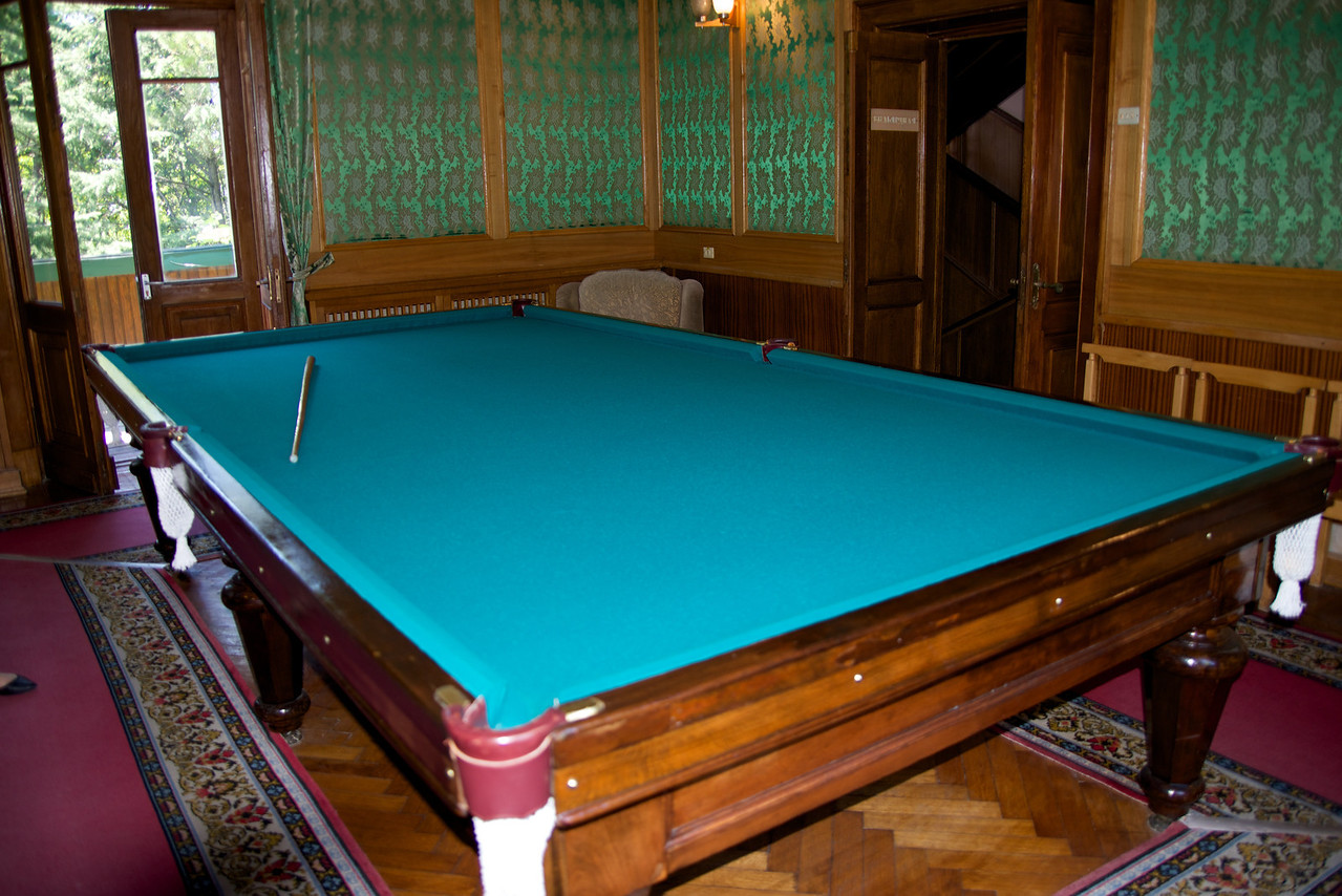 Pool Table Built for Stalin… His Pool Cue Was Weighted To Help Him Control It Because of His Withered Left Hand