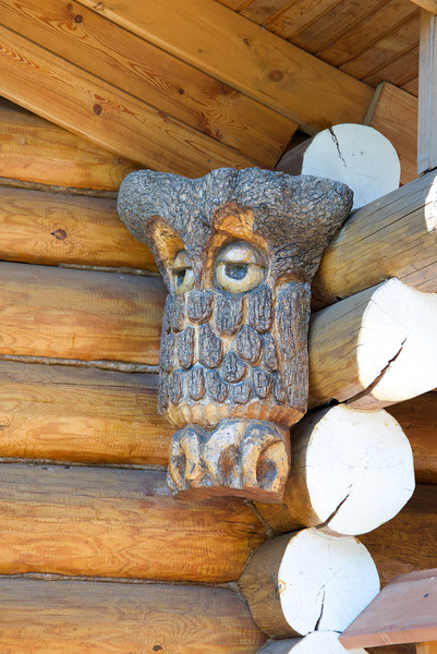 Loved The Owl Wood Carving