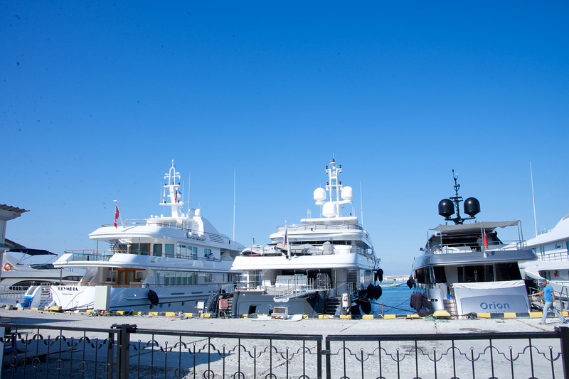 Private Yacht Area… Where President and Prime Minister Have Yachts