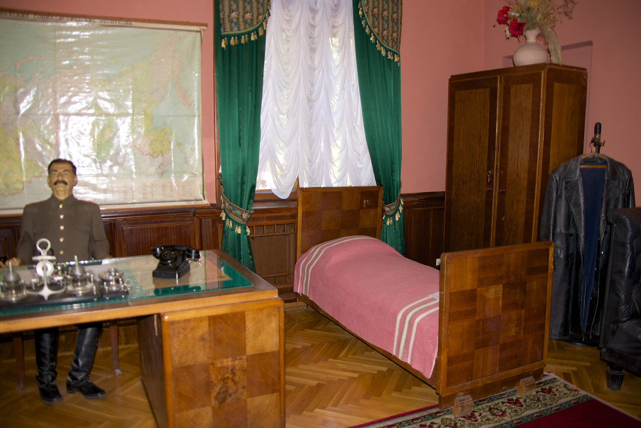 One of Stalin's Favorite Offices… He Had A Bed in Every Office
