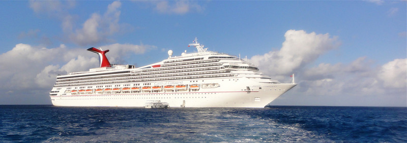 Our home for the week, the Carnival Conquest