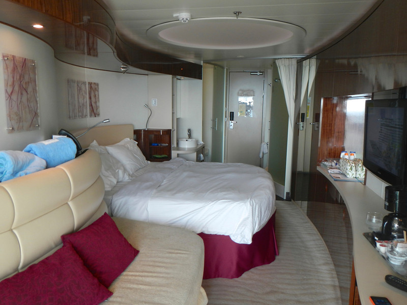 """Our """"mini-suite"""" aboard the Norwegian Epic"""