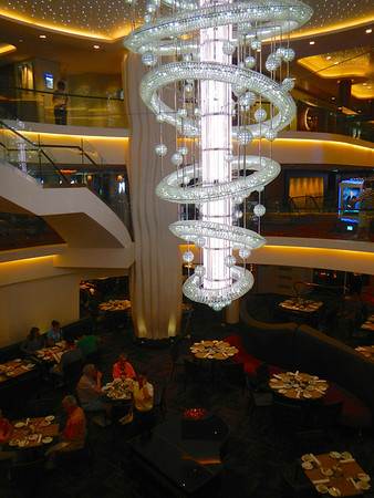Atrium on Norwegian Epic