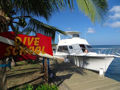 Ready for more scuba diving - Roatan, Honduras