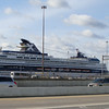 Docked at the Cruise Maryland terminal in Baltimore, Mercury  is visible from the freeway.<br /> (photo courtesy of Radio, a CruiseCritic poster)