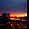 Hyatt Regency Baltimore<br /> Sunrise view on November 30.