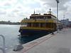The cruise ship dock in Cozumel