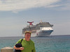 Dave with the Carnival Legend