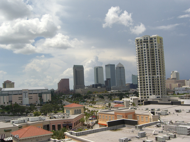 Tampa, as seen from the Carnival Legend