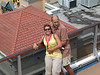 Sheila and Walter on board the Carnival Legend