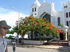 Walter and a church in Key West