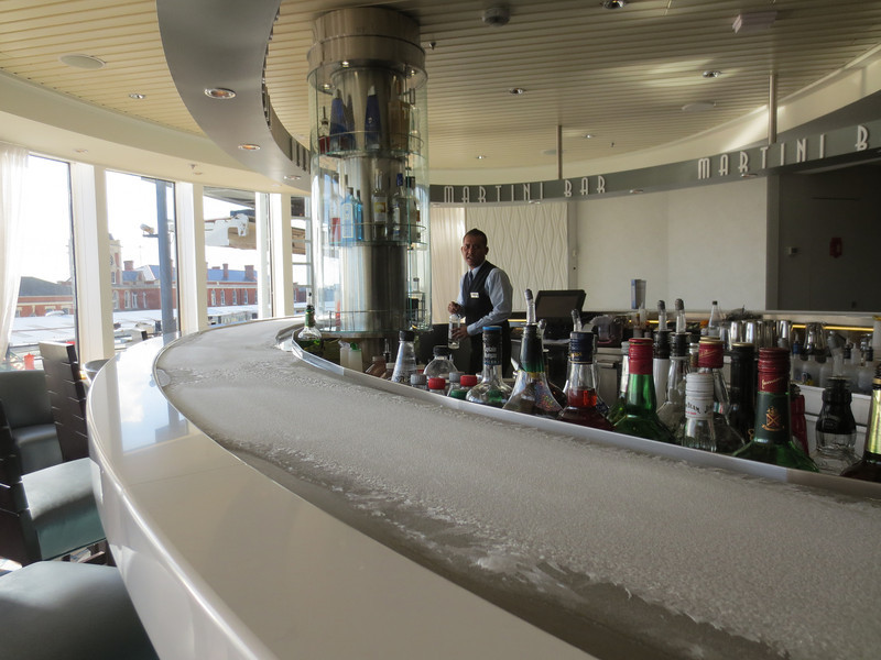Frosty Martini Bar