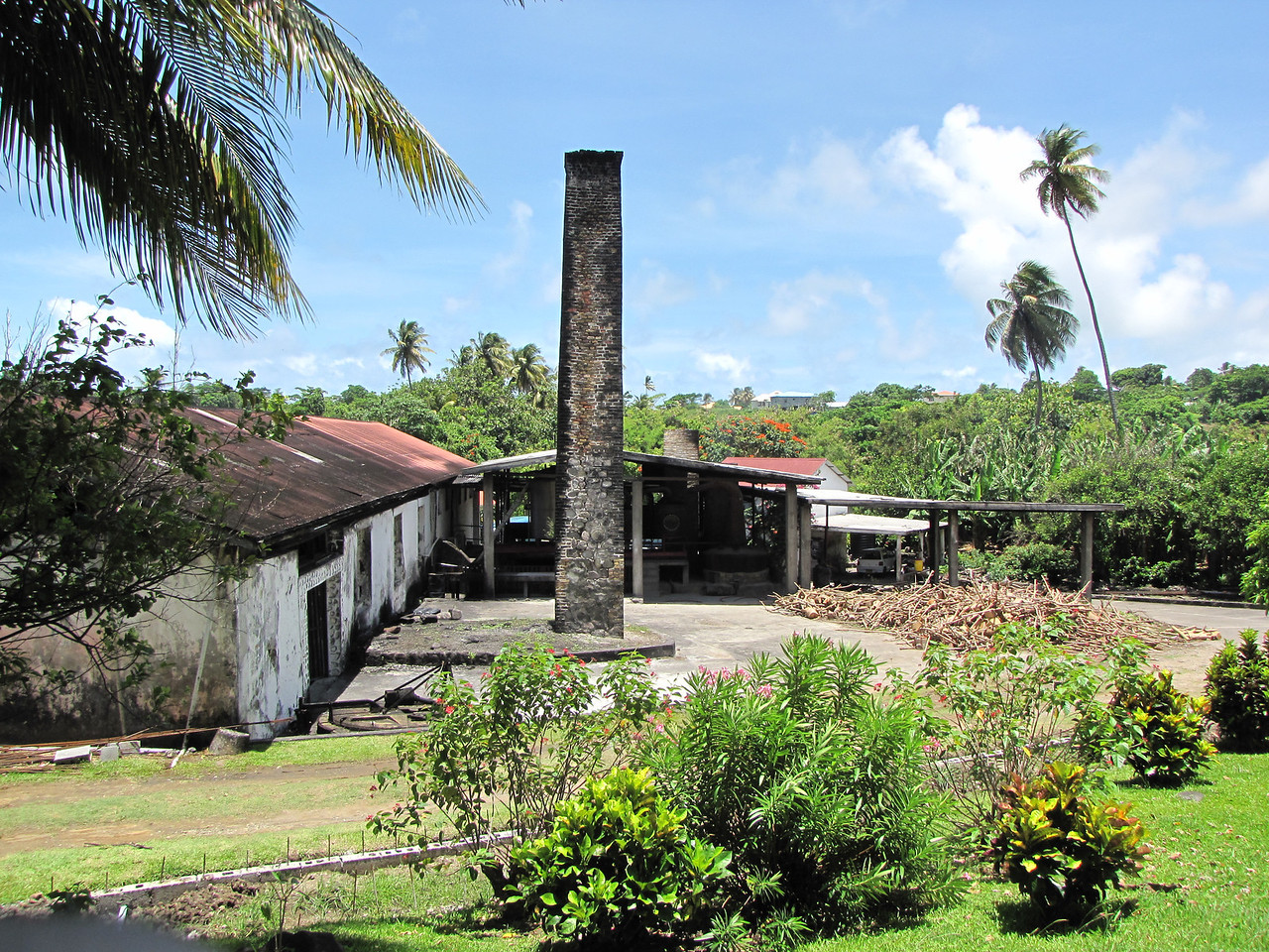 The River Antoine Rum Distillery.