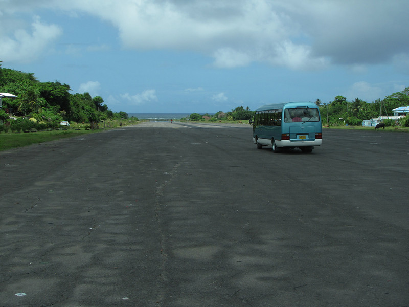 Next stop is an abandoned air field that was used by the US during the 1983 invasion of Grenada.