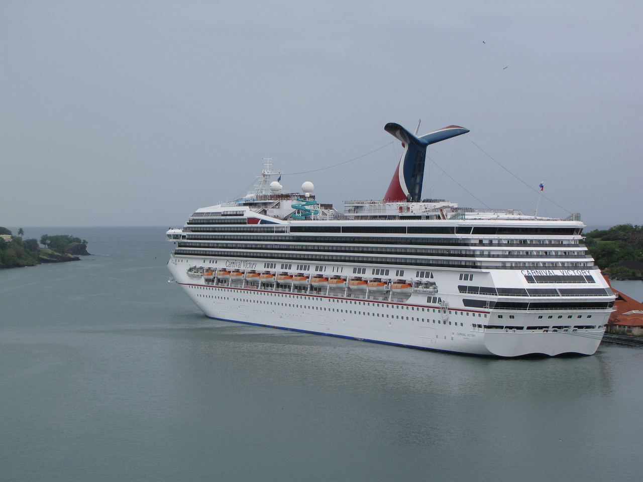 Another view of Carnival Victory.