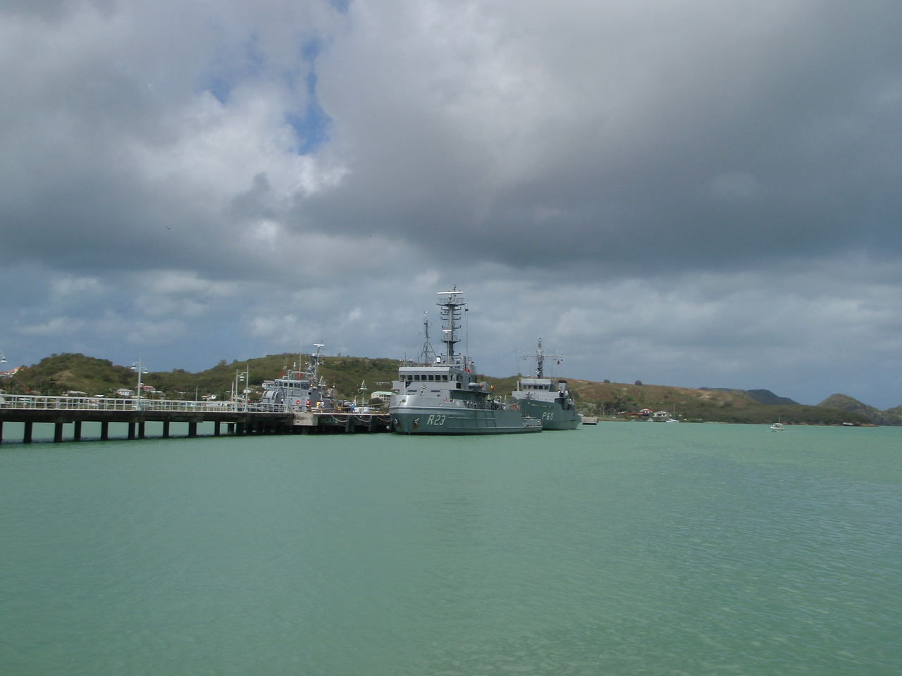 The Antiguan Navy?
