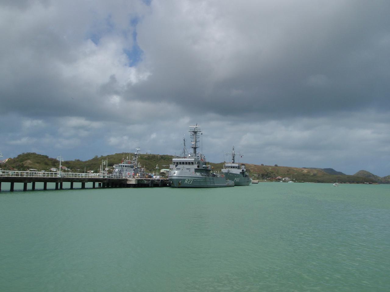 The Antiguan Navy?
