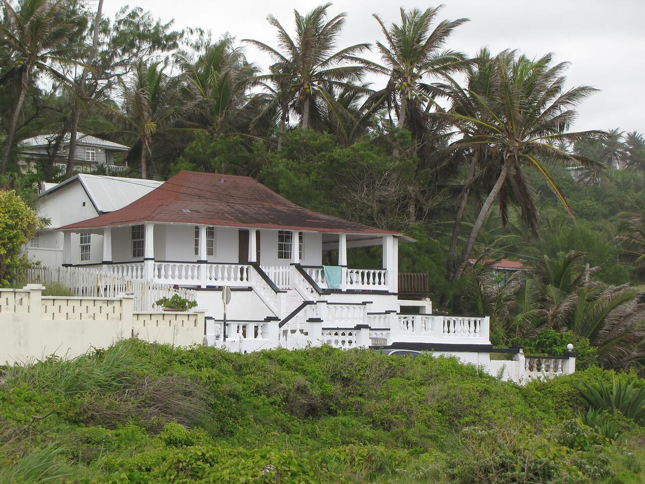 Nice house.