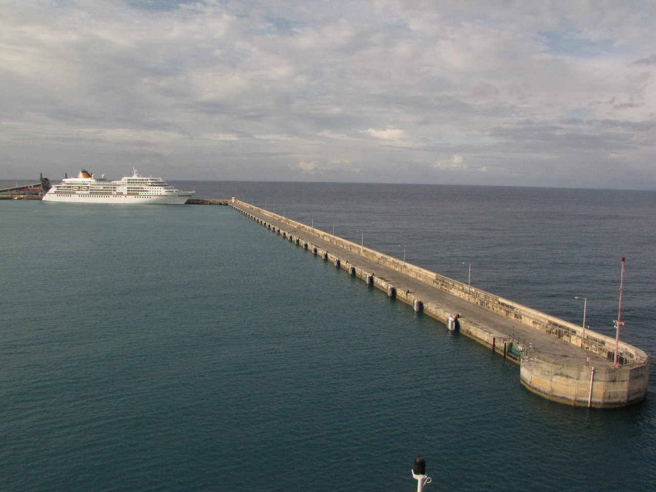 We arrive at Bridgetown, Barbados on Friday morning.