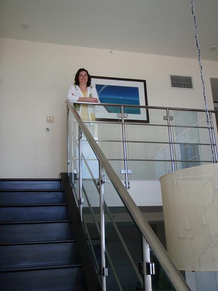 Upstairs is a loft bedroom and full bathroom.