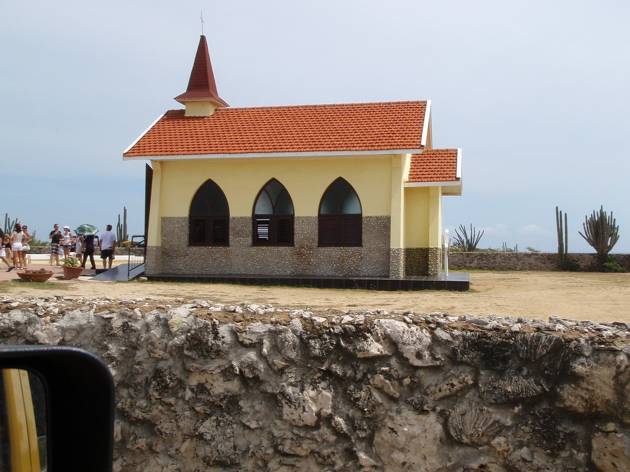 The Alto Vista Chapel.  It was built in 1952 at the site of the first Catholic Church on the island which was built in 1750.