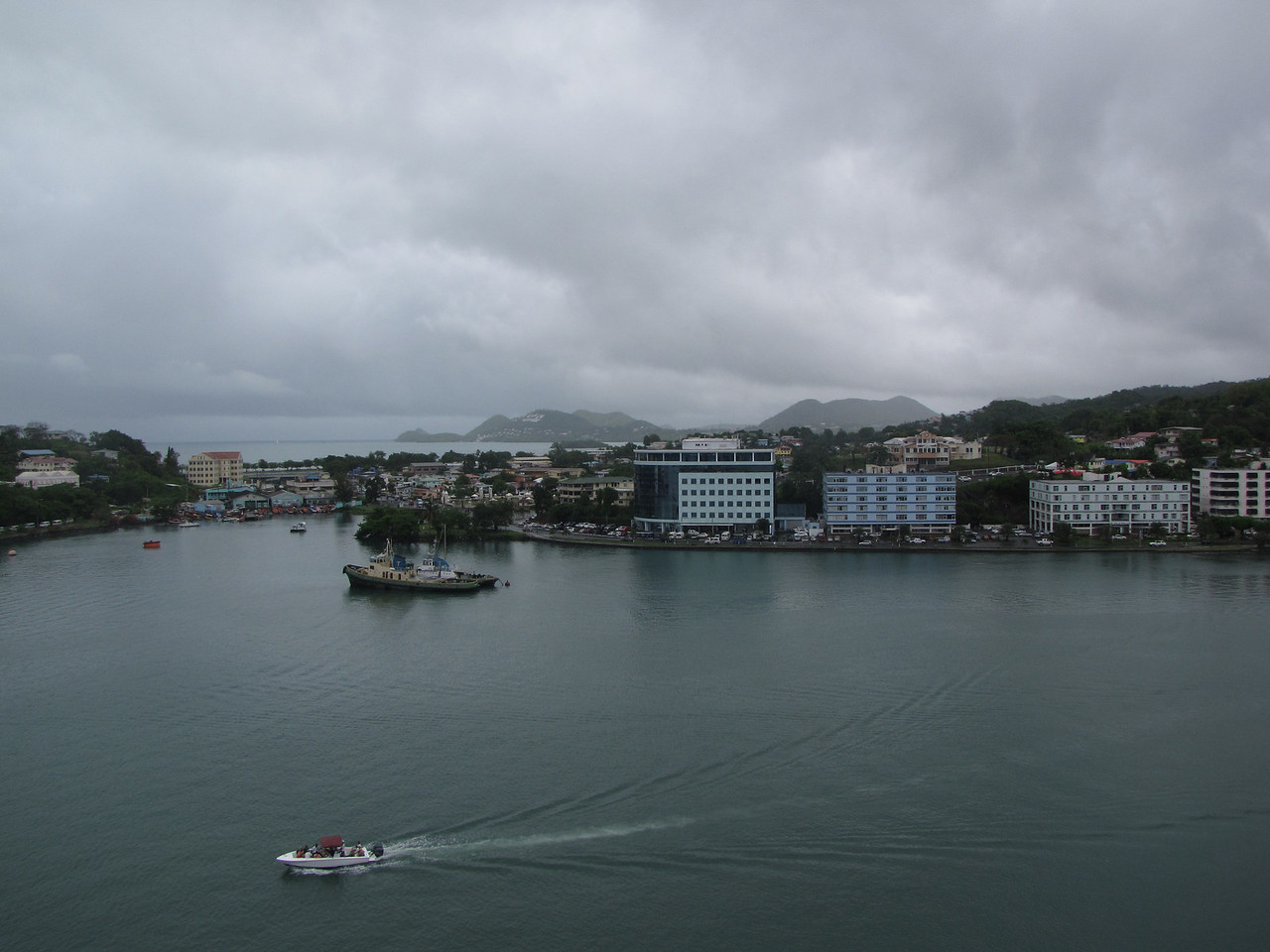 Nice view of the harbour.