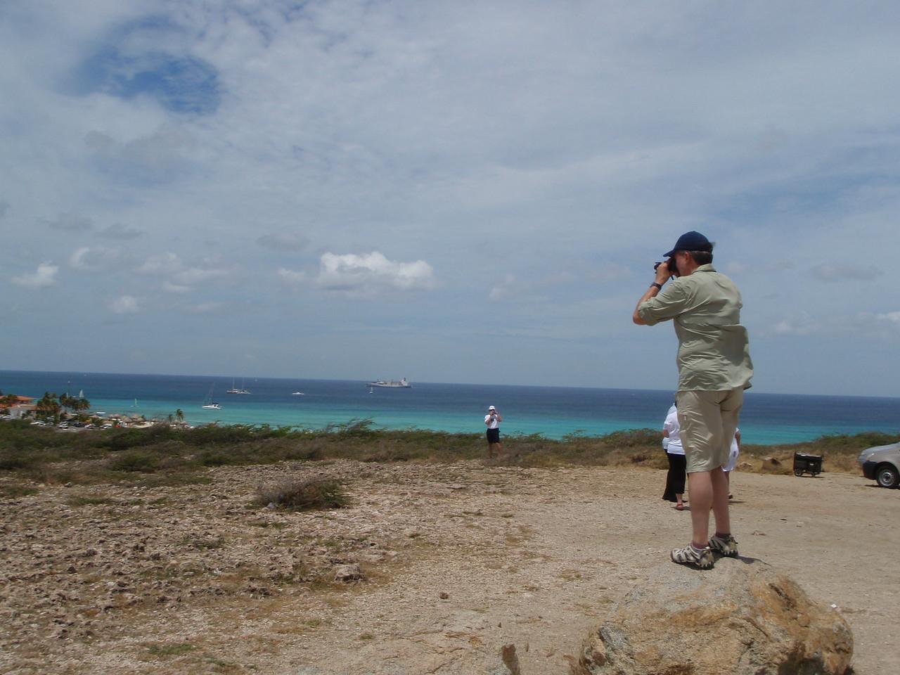 Kenny taking photos.