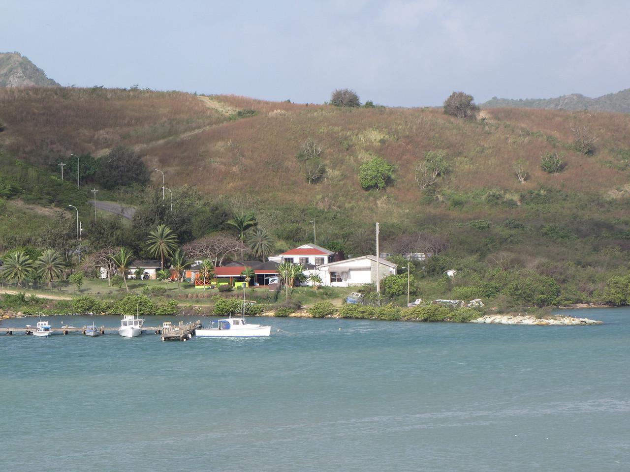Antigua scenery.