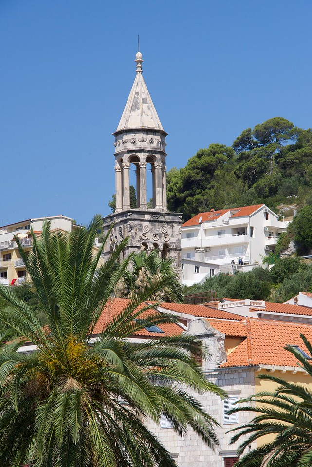 Bell Tower of the former Church of St. Mark and Dominican Monastery.