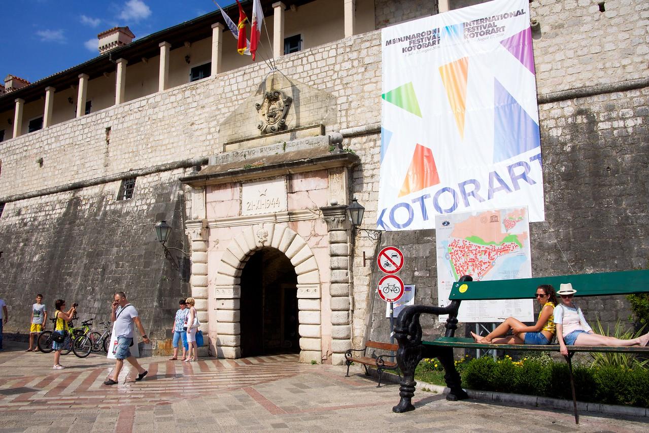 Kotor City Gate.