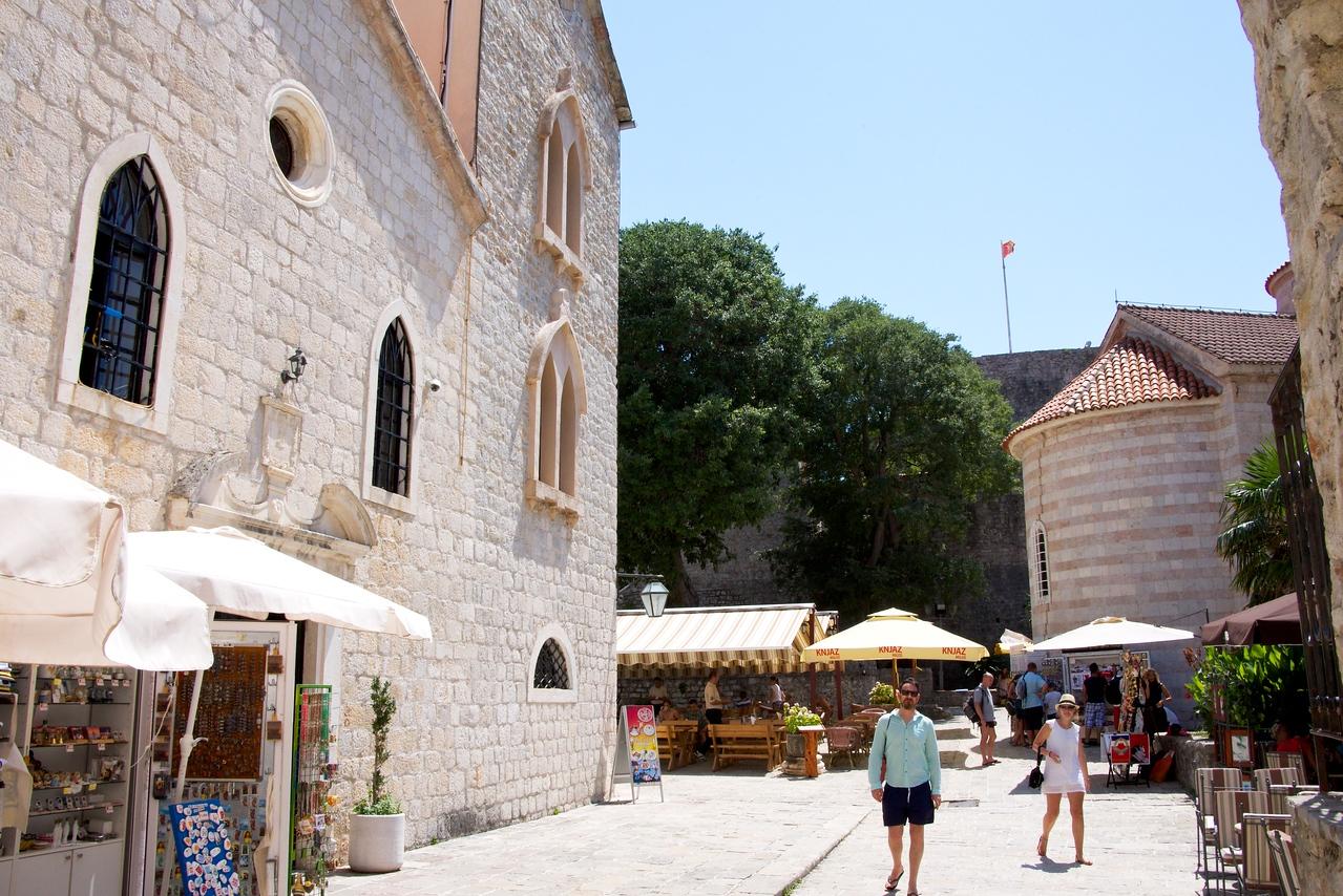 Old City of Budva, Church Square.