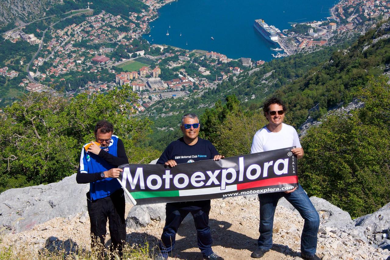 Italian motorcyclists.