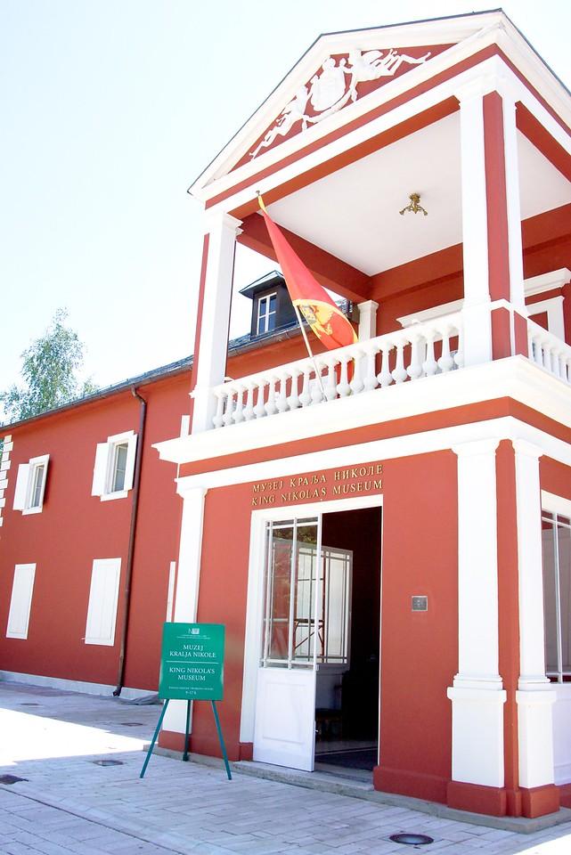 King Nicholas Museum in Centinje.