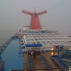 Docking in the Fog at Long Beach - 27 Sept 2009
