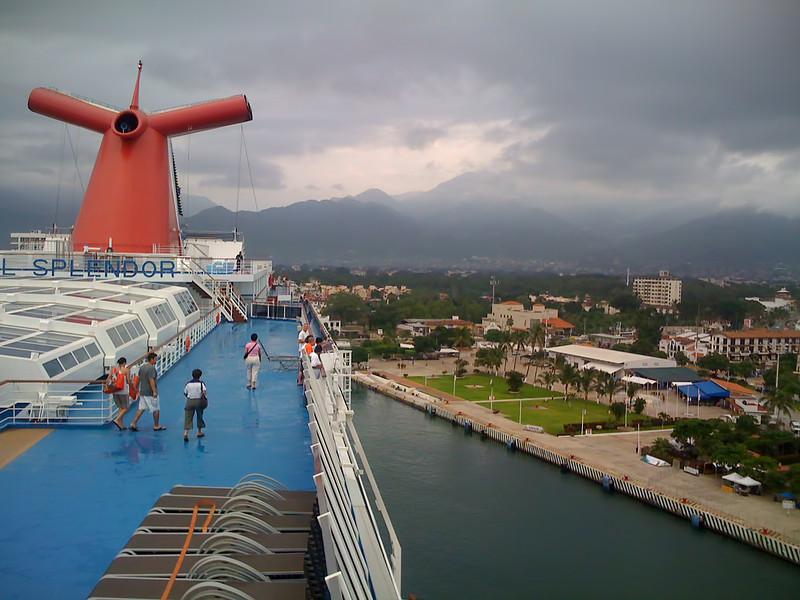 Splendor docking at Puerto Vallarta - 23 Sept 2009