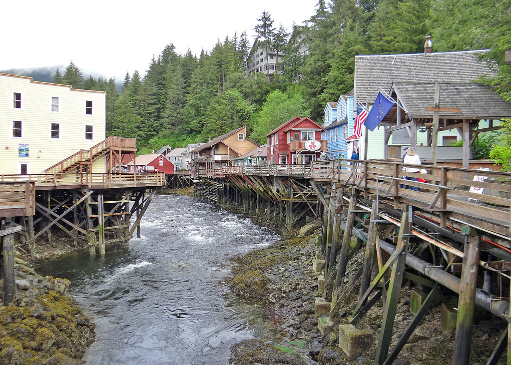 Creek Street is known as Ketchikan's old red-light district. In the mid 1920's there were over 20 bawdy houses on Creek Street alone! In fact, Creek Street was once home to Ketchikan's #1 industry – prostitution.