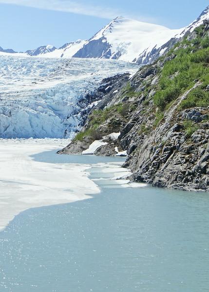 Portage Lake and Glacier