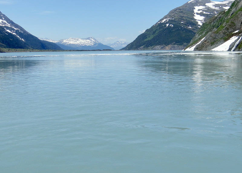 Portage Lake as we are heading back to dock