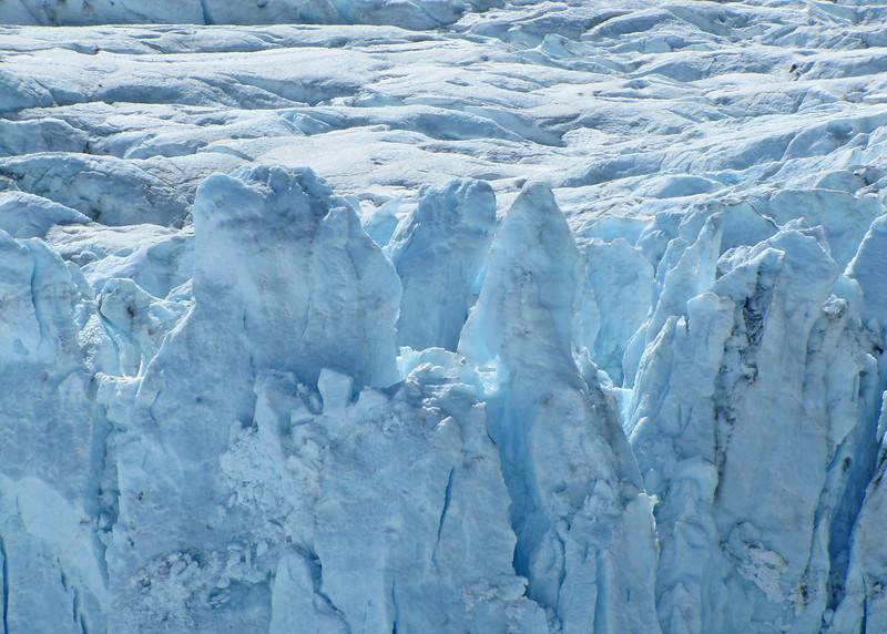 Portage Glacier up close