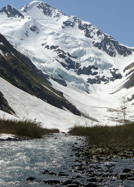 Byron Creek and glacier