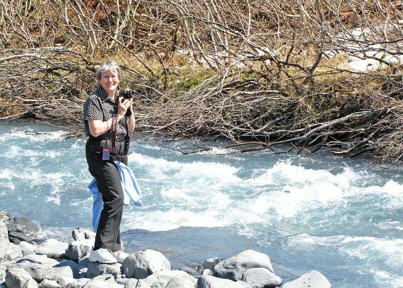 Susan along Byron Creek