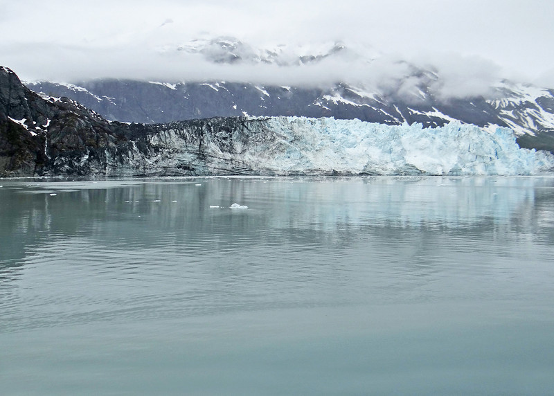 Glacier Bay -  Margerie Glacier is about 1 mile wide with a 250 foot ice face and about 100 feet of ice below the surface of the water,  The glacier is about 21 miles long.