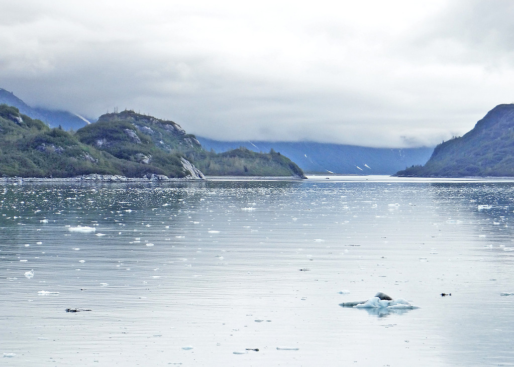 On our way out of Glacier Bay