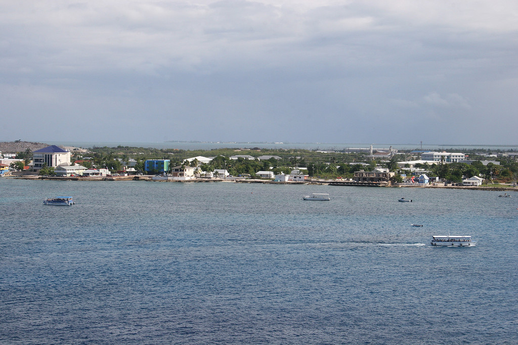 Grand Cayman from our ship