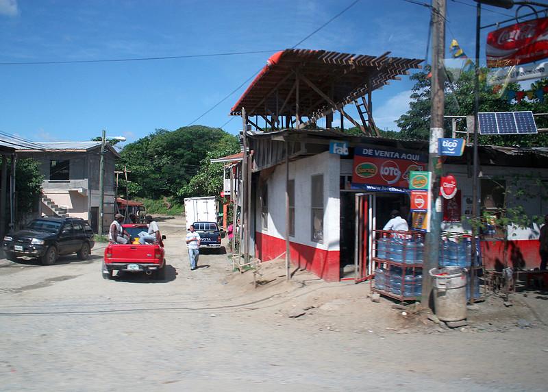 Building in Roatan